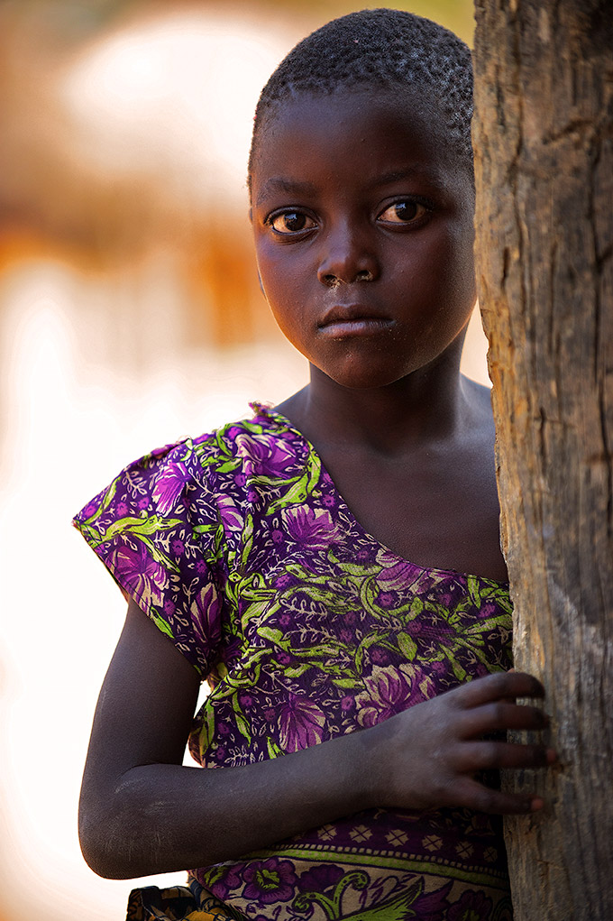 zambian-village-girl